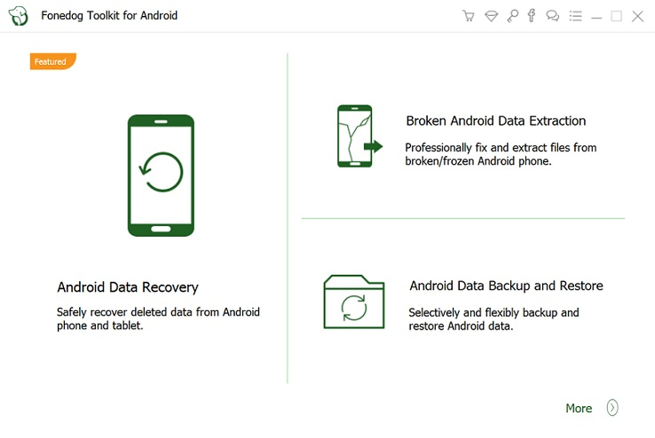 android-recovery.exe - FoneDog Android Toolkit for Windows